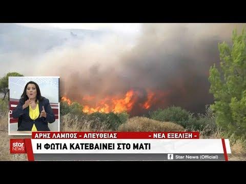 Star - Ειδήσεις - 23.7.2018 - απογευματινό δελτίο