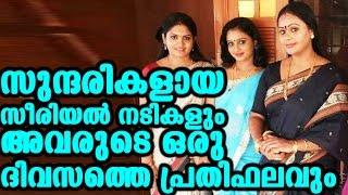 സീരിയൽ നടിമാരുടെ ഒരു ദിവസത്തെ പ്രതിഫലം | daily income of serial actresses
