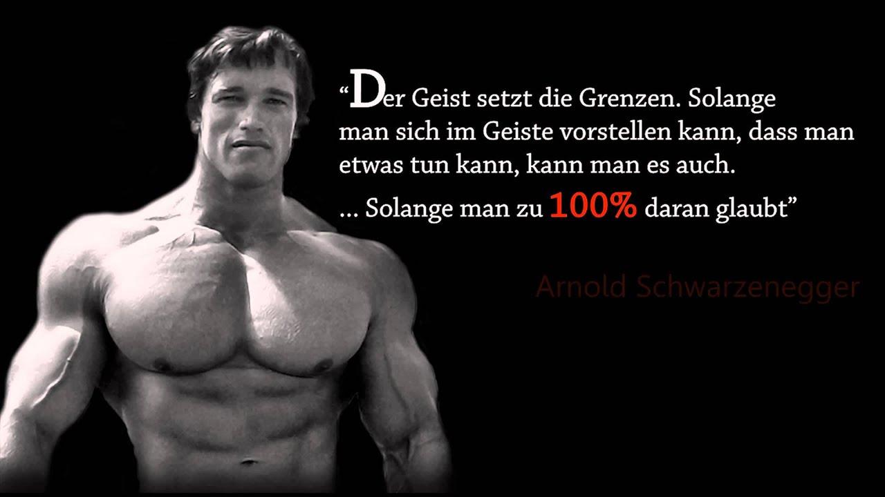 Arnold Schwarzenegger Motivation Zitat 1 Hd