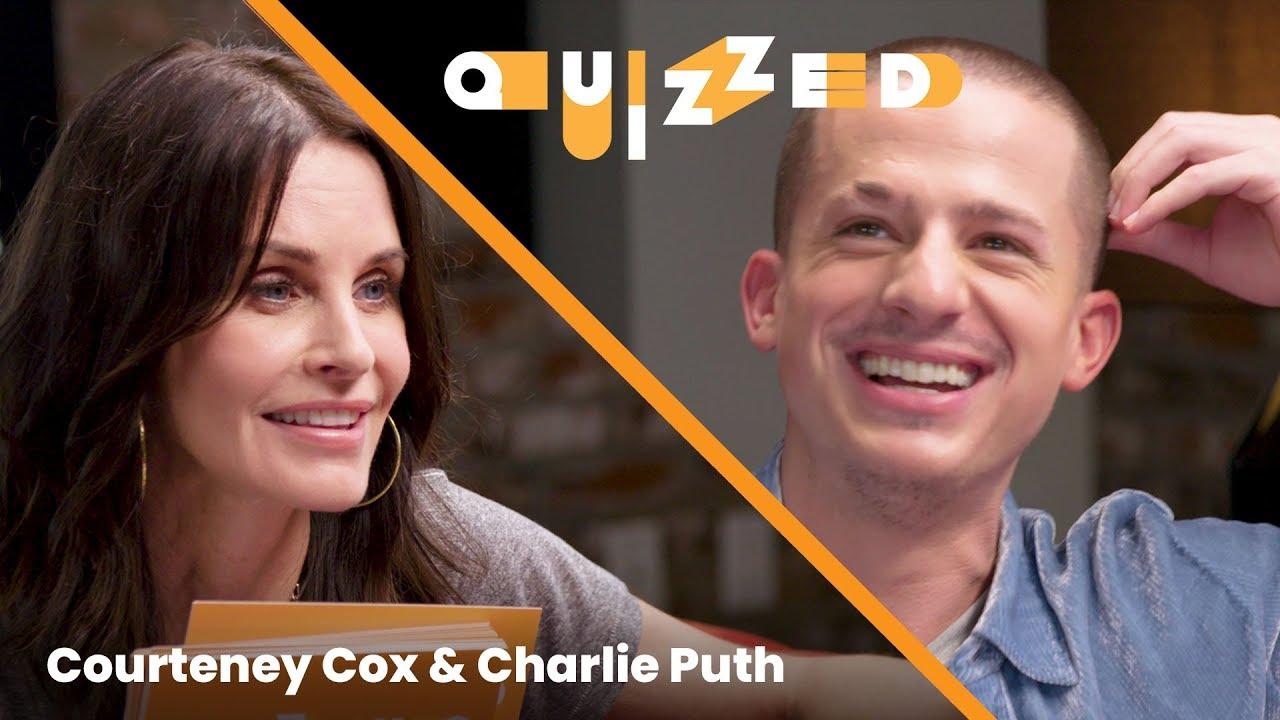 Download Charlie Puth Gets QUIZZED by Courteney Cox on 'Friends' | Billboard