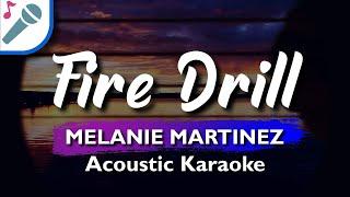 🎤 FIRE DRILL (KARAOKE VERSION) MELANIE MARTINEZ INSTRUMENTAL & LYRICS