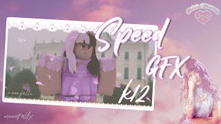 Melanie Martinez Speed GFX // ROBLOX K12