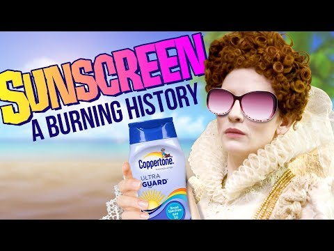 The Burning History of Sunscreen