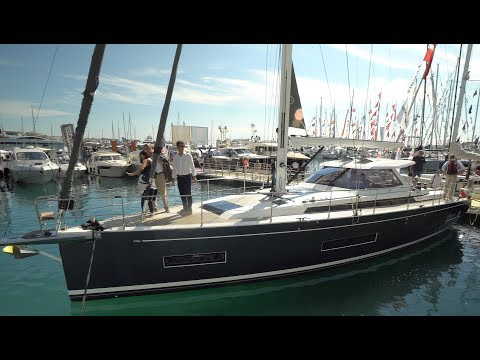 Amel 50: Guided Tour Video (English) at the Cannes Yachting Festival 2017