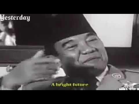 Wawancara Bung Karno dengan Wartawan Perancis : Masa Depan Indonesia