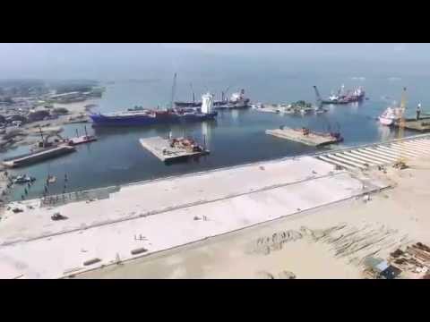 APN GLF | Reconstruction du Port Int'l de Port au Prince.-