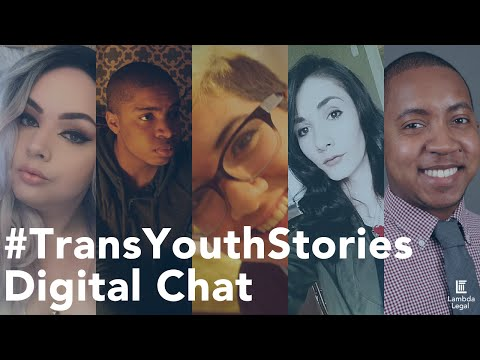#TransYouthStories Digital Chat