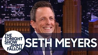 Seth Meyers Gets Real About Interviewing Presidential Candidates