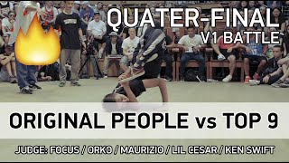 Original People vs Top 9 - 3x3 - 1/4 - V1 BATTLE - SPB - 23.07.18