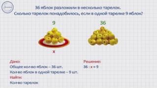 Математика 3 Решение задач с помощью уравнения