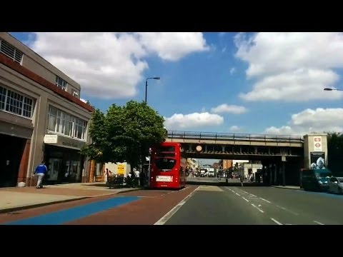 Driving in London - Tooting Bec to Clapham South