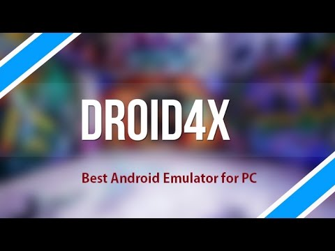 droid4x emulator download for pc