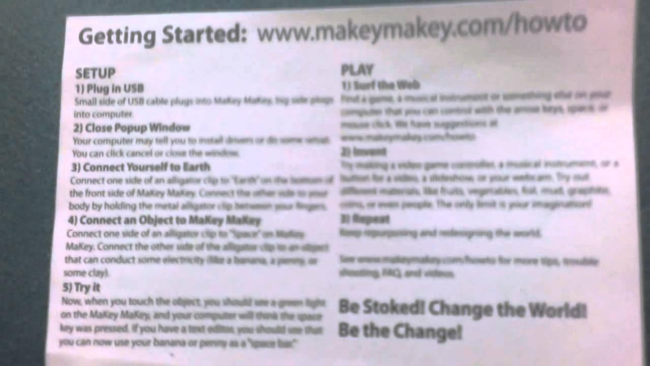 Image result for makey makey instructions