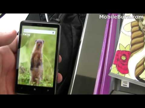 T-Mobile HTC HD7 video walkthrough