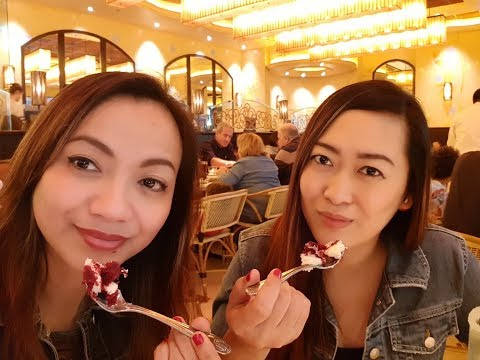 CHEESECAKE FACTORY Doha Festival City Qatar - The Cheesecake Battle VLOG#34