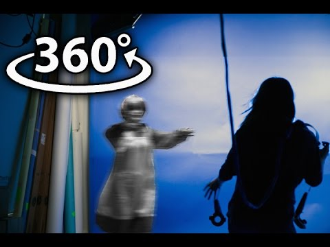 Making a VR nightmare come to life  360 ghost scare prank