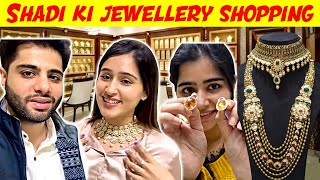 Buying Jewellery for NISHI'S WEDDING | That Glam Couple