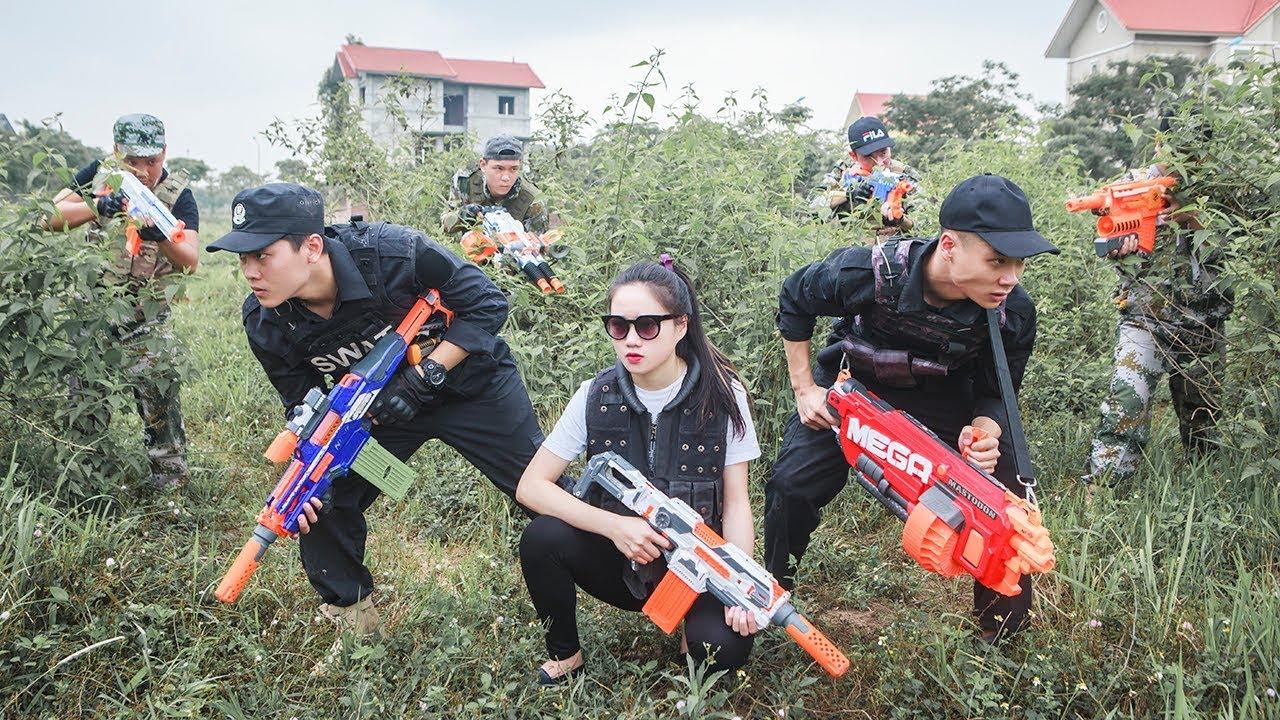 Ltt Nerf War  Seal X Warriors Nerf Guns Use Skill Nerf