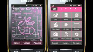 Samsung Corby 2 Themes