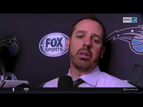 Frank Vogel -- Orlando Magic at Memphis Grizzlies 11/01/17