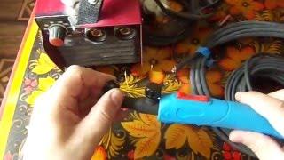 Аргоновая горелка с вентилем WP-9V +самодельный шланг пакет.(Хотите варить аргоном от обычного сварочника? Жалко денег на аргоновую горелку в сборе? Мне тоже.))) Смотрим..., 2016-05-14T03:00:44.000Z)