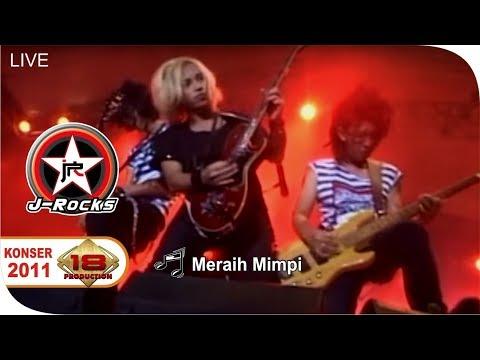 [Live] J-Rocks ~ Meraih Mimpi @Konser Kediri 17 September 2011