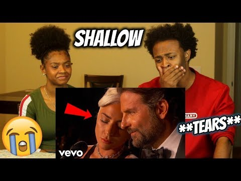"""First Time Listening To Lady Gaga, Bradley Cooper - """"Shallow"""" From A Star Is Born!! (CRYING!!)"""