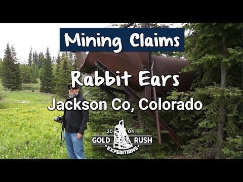 Rabbit Ears Gold Mining Claim-GRE, Inc.-Colorado-2016