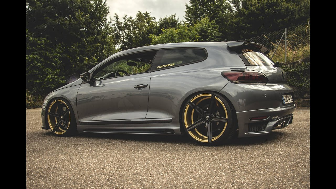 K Custom Vw Scirocco Quot R Quot Tuning Youtube