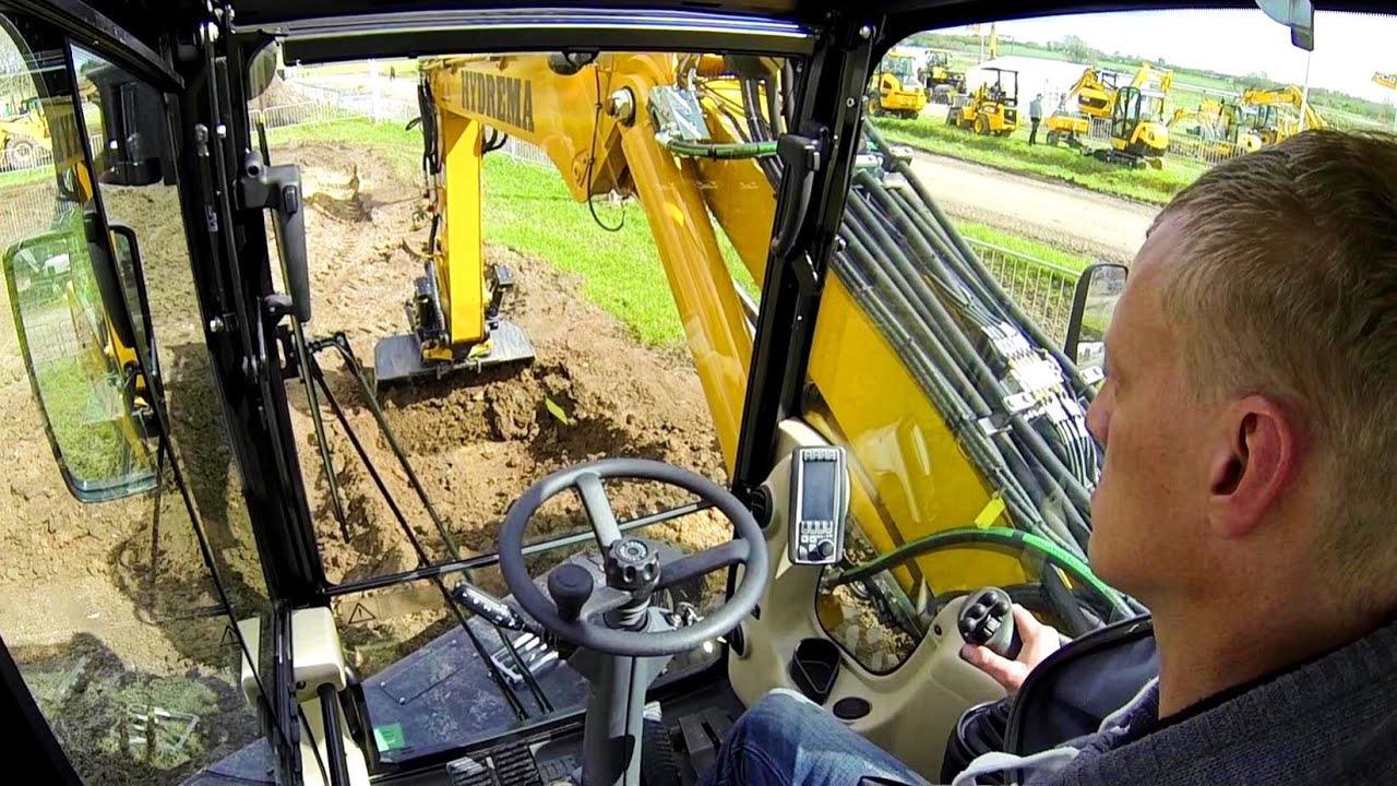 Hydrema Mx16 Wheel Excavator With Tiltrotator Test Drive