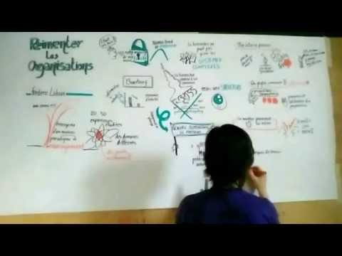 Frederic Laloux Reinventing organizations - Facilitation graphique - Laloux
