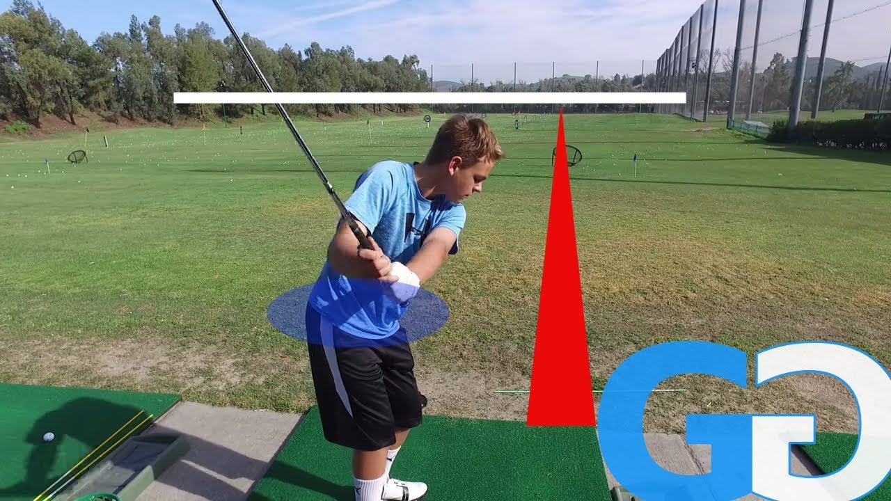 Golf Tips Wedge Work Left Arm More Inside And On Plane Junior Golf Lesson