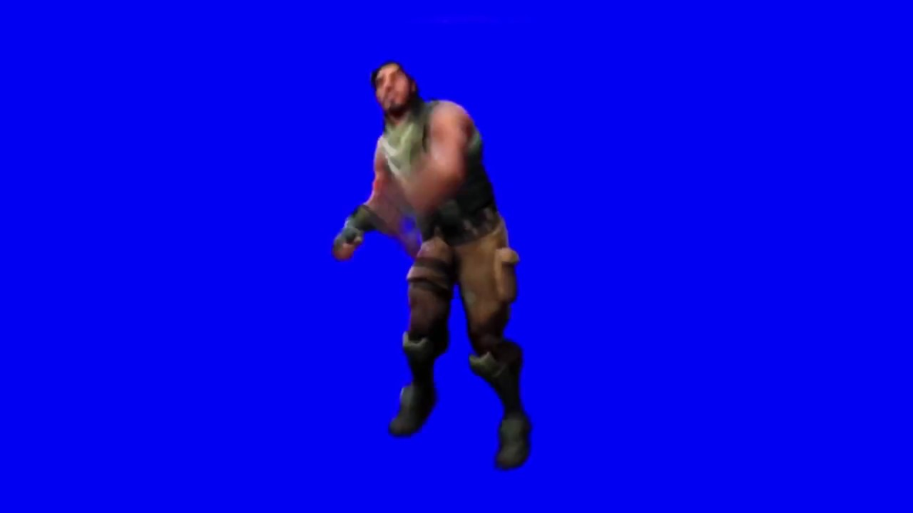 Fortnite deleted dance (3rd v of default dance)