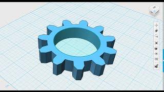 123D Design: Spur Gear