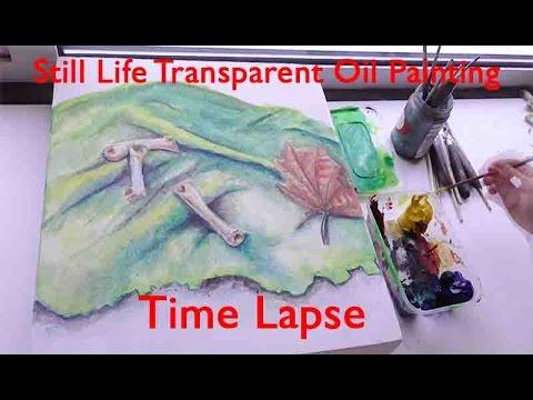 Still Life Transparent Oil Painting