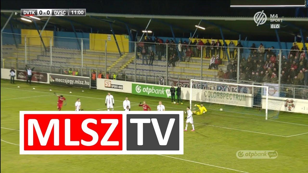Ugrai Roland gólja a DVTK - DVSC mérkőzésen
