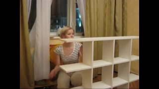 видео Делаем стеллаж для игрушек своими руками