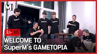 [Mtopia] Welcome to SuperM's Gametopia🎉| EP10