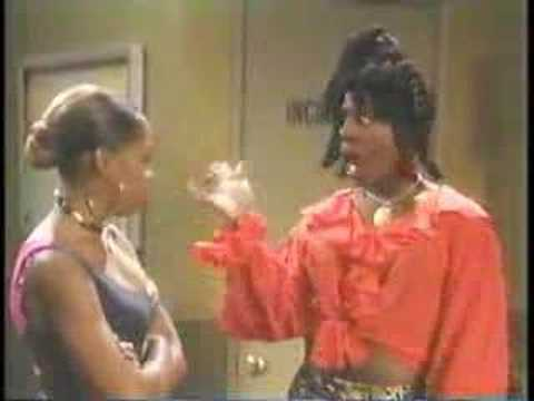 Sheneneh Arguing With Pam In The Hall.