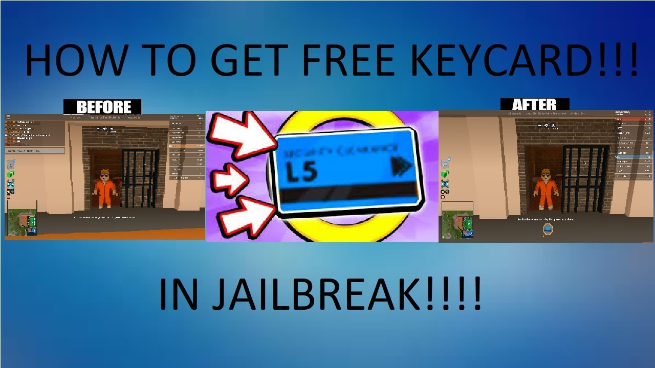 Roblox Jailbreak How To Get Free Keycard 100 Works Youtube