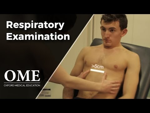 Respiratory Examination -
