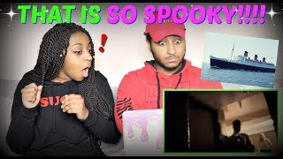 "Shane Dawson ""GHOST HUNTING IN A HAUNTED SHIP"" REACTION!!!"