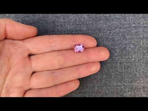 Розовая натуральная шпинель из Бирмы 3.26 карат