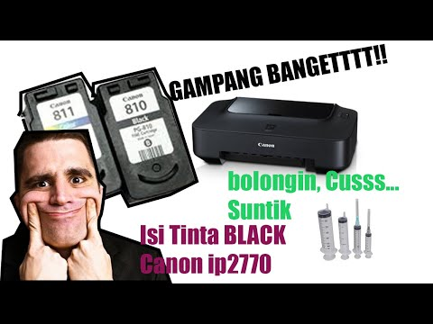 【Tutorial】 Cara Mengisi Tinta Warna di Printer Canon iP2770 • Simple News Video.