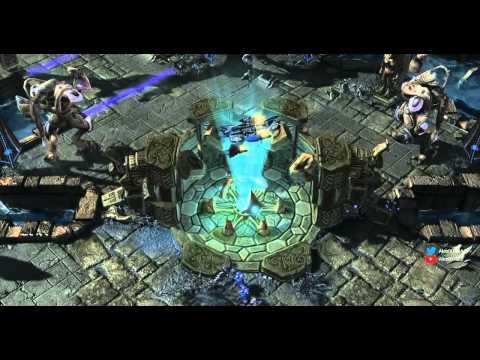 Starcraft 2: LotV Прохождение с Майкером 1 часть (Эксперт)