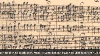 (ヨハネ受難曲コラール集 バッハ自筆譜) BWV245:St.John Passion Chorals with Composer's Manuscript