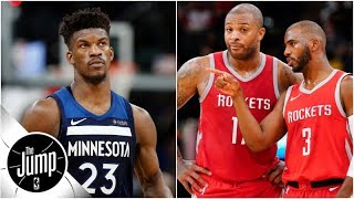 How dangerous would Jimmy Butler make the Rockets?   The Jump