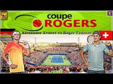 Tennis - Montréal 2017 : Alexander Zverev - Roger Federer [Finale]