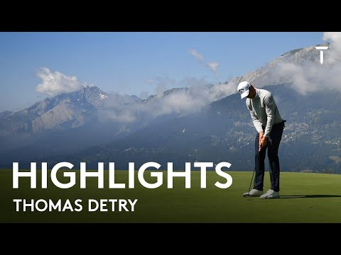 Thomas Detry Round 2 Highlights | 2021 Omega European Masters