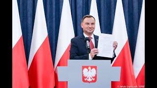 System prezydencki, ochrona polskiej żywności - Prezydent Andrzej Duda o szczegółach referendum